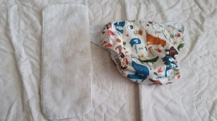 Microfiber insert and Pocket diaper