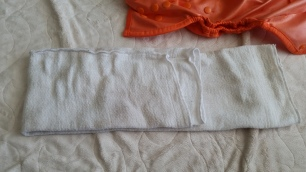 Fold flat to fit diaper and baby